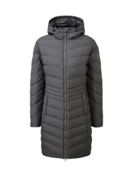 Tog 24 Vienna Womens Longer Length Down Jacket Grey