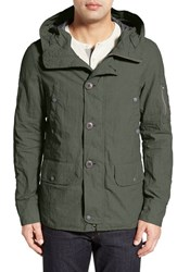 Men's Spiewak 'Essex N3b' Water Resistant Hooded Jacket Altitude Green