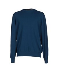 Andrea Morando Knitwear Jumpers Men Deep Jade