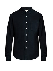 Simon Miller Patch Pocket Denim Shirt Indigo