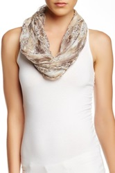 14Th And Union Classy Leopard Infinity Scarf Brown