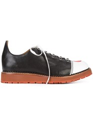 Vivienne Westwood Man Freedom Lace Up Shoes Men Leather Rubber 44 Black