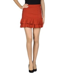 Miss Sixty Mini Skirts Red