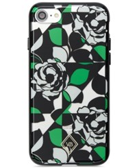Vera Bradley Printed Clear Flexible Iphone 7 Case Imperial Rose