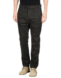 Haikure Casual Pants Dark Green
