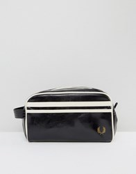 Fred Perry Classic Travel Kit Toiletry Bag In Black Black