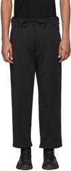 Y 3 Black James Harden Wide Trousers