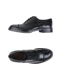 Canali Lace Up Shoes Black