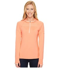 Columbia Solar Ridge Hoodie Lychee Light Coral Women's Sweatshirt Orange