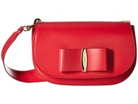 Salvatore Ferragamo Anna 21G217 Pamplona Handbags Red