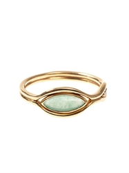 Fernando Jorge Diamond Green Quartz And Gold Fluid Ring