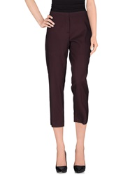 Tara Jarmon Casual Pants Deep Purple