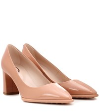 Tod's Patent Leather Pumps Pink
