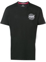 Alpha Industries Nasa Patch T Shirt Black