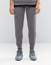 Systvm Zala Joggers In Ash Grey