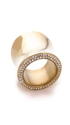 Michael Kors Wide Statement Ring Gold