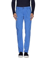 Guess Denim Denim Trousers Men Pastel Blue