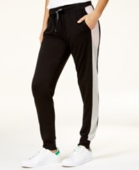 Material Girl Active Juniors' Joggers Only At Macy's Grey Pink