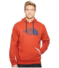 The North Face Half Dome Hoodie Ketchup Red Urban Navy Men's Long Sleeve Pullover Purple