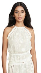 Honeydew Intimates Siesta Sweetheart Embroidered Top White