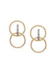 Charlotte Chesnais Galilea Earrings Metallic