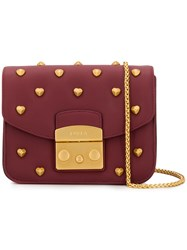 Furla Metropolis Amoris Mini Bag Red