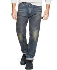 Denim And Supply Ralph Lauren Straight Fit Calloway Jeans Blue
