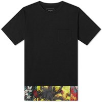 Sophnet. Fake Layered Pocket Tee Black