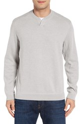 Tommy Bahama Men's 'New Flip Side Pro Abaco' Reversible Sweater Winter White Heather