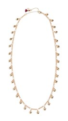 Shashi Listen To Your Hearts Necklace Gold