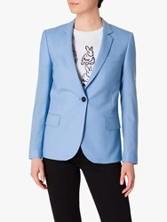 Paul Smith Ps Single Button Wool Blazer Sky Blue
