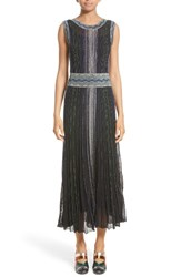 Missoni Women's Reversible Metallic Rib Knit Dress
