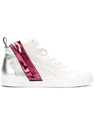 Crime London Magma Sneakers White