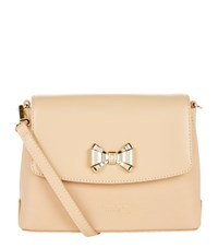 Ted Baker Tessi Bow Cross Body Bag Female Neutral