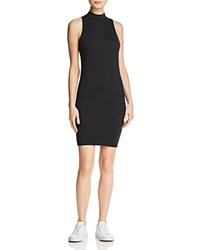 Michelle By Comune Mock Neck Tank Dress Black