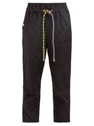 Proenza Schouler Pswl Parachute Hammered Technical Track Pants Black