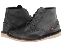 Oliberte Mogado High Dark Grey Brushed Wax Men's Shoes Gray