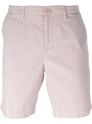 Burberry Brit Chino Shorts Pink And Purple