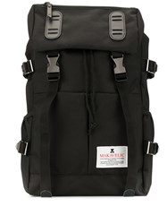 Makavelic Double Belt Logo Backpack 60