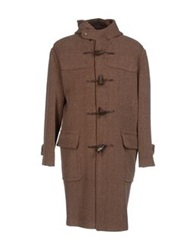 Gloverall Coats Brown