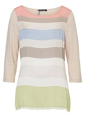 Betty Barclay Striped Tunic Top Multi Coloured