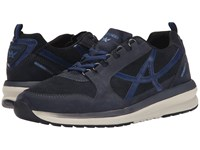 Allrounder By Mephisto Escudo Dark Blue G Nubuck O Suede Men's Lace Up Casual Shoes Black