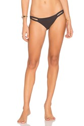 Vitamin A Neutra Hipster Bikini Bottom Charcoal