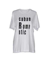 Caban Romantic T Shirts White