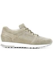 Santoni Lace Up Sneakers Green