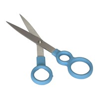 Venn Kitchen Scissors With Integrated Spaghetti Measures Blue