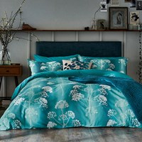 Clarissa Hulse Angeliki Duvet Cover Blue