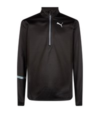 Puma Ignite Pace Half Zip Running Top Black
