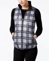 G.H. Bass And Co. Plaid Vest Grey Dusk Combo
