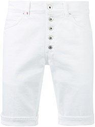 Dondup Buttoned Shorts White